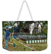 Happy Halloween-try Not To Scream Weekender Tote Bag