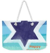 Happy Hanukkah Card Weekender Tote Bag
