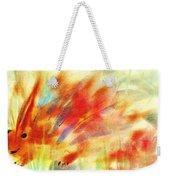 Happy Hedgehog Weekender Tote Bag