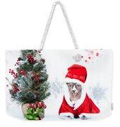 Xmas Holidays Greeting Card 108 Weekender Tote Bag