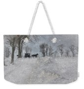 Happy Holidays From Pa Weekender Tote Bag by Lori Deiter