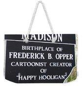 Happy Hooligan Weekender Tote Bag