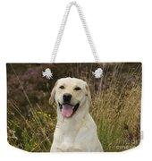 Happy Labrador Weekender Tote Bag