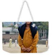 Happy Laughing Pathan Boy In Swat Valley Pakistan Weekender Tote Bag