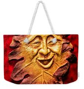 Happy Leaf Weekender Tote Bag