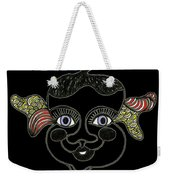 Happy Licorice Girl Weekender Tote Bag