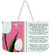 Happy Mother's Day Weekender Tote Bag