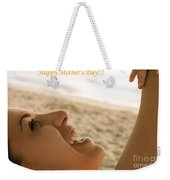 Happy Mother's Day Card Weekender Tote Bag