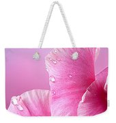 Happy Mother's Day Macro Pink Rose Petals Weekender Tote Bag