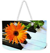 Happy Music Weekender Tote Bag