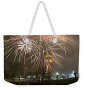 Happy New Year 2014 A Weekender Tote Bag