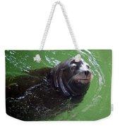 Happy Seal Weekender Tote Bag