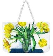 Happy Spring Weekender Tote Bag