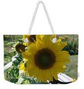 Happy Sunflowers Weekender Tote Bag