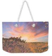 Happy Sunset Weekender Tote Bag