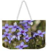 Happy Tiny Bluet Wildflowers Weekender Tote Bag