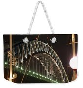 Harbor Bridge Weekender Tote Bag