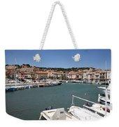 Harbor Cassis Weekender Tote Bag