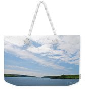 Harbor Entrance Weekender Tote Bag