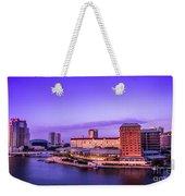 Harbor Island Weekender Tote Bag by Marvin Spates