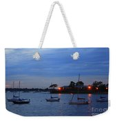 Harbor Lights Weekender Tote Bag