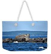 Harbor Rocks Weekender Tote Bag