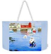 Harbor Scene Weekender Tote Bag