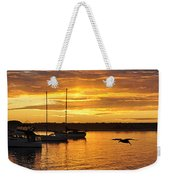 Harbor Sunset Weekender Tote Bag