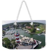 Harbor Town 1 In Hilton Head Weekender Tote Bag