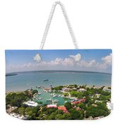 Harbor Town 3 In Hilton Head Weekender Tote Bag