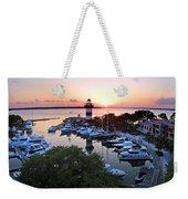Harbor Town 4 In Hilton Head Weekender Tote Bag