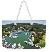 Harbor Town 6 In Hilton Head Weekender Tote Bag
