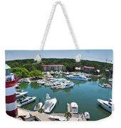 Harbor Town 7 In Hilton Head Weekender Tote Bag
