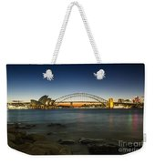 Harbour Night Weekender Tote Bag