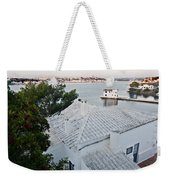 Port Mahon View With A Villa Called Venecia - Harbour Of My Dreams Weekender Tote Bag