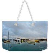 Harbour Overview 2 - Lyme Regis Weekender Tote Bag