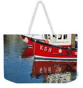 Harbour Reds Weekender Tote Bag