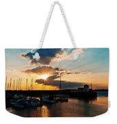 Harbour Sunset Weekender Tote Bag