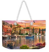 Harbour Sunset Weekender Tote Bag