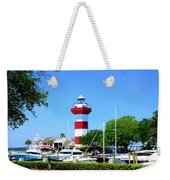 Harbour Town Lighthouse Weekender Tote Bag