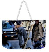 Hard At Work Weekender Tote Bag