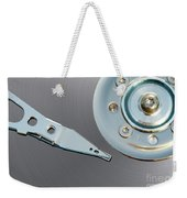 Hard Disc Weekender Tote Bag
