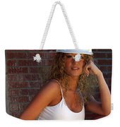Hard Hat Weekender Tote Bag