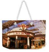 Hard Rock Cafe At Union Station Weekender Tote Bag