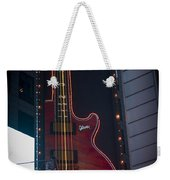 Hard Rock Guitar Nyc Weekender Tote Bag