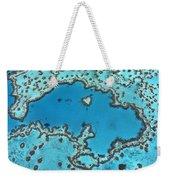 Hardy Reef On Great Barrier Reef Weekender Tote Bag