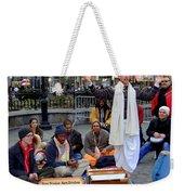 Hare Krishnas Nyc Weekender Tote Bag