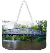 Hares Hill Road Bridge Weekender Tote Bag