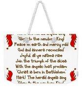Hark The Herald Angels Sing Weekender Tote Bag