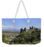 Harlech Castle Snowdonia Weekender Tote Bag